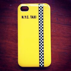 iPhone NYC Taxi.