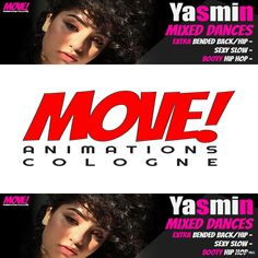 New Release: Yasmin Mixed Dance Pack by MOVE! Animations Cologne