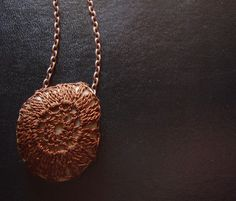 Crocheted Stone Necklace