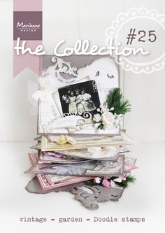 Collection #25 February 2015, Anja's new designs, Garden Craftables, Collectable Orchid, Anja's labels, Doodle Stamps