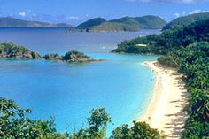 Sapphire Beach, St. Thomas USVI.  Visited here several times when living in Miami, Florida.  Just a short plane ride away and great beaches and shopping.
