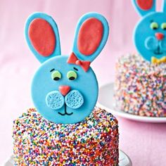 Easter bunny toppers
