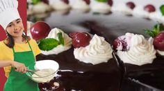 Cherry & Amaretto Honey Cake   Food Park Recipes