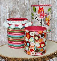 37 Ideas para reciclar latas y darle muchos usos en el hogar ~ cositasconmesh