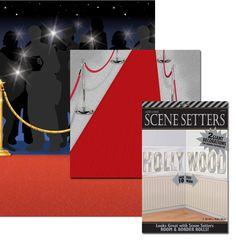 Un espectacular set de decorados para una fiesta cine o una fiesta Oscars!