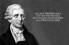 The most bizarre composer facts----I love this stuff!  It's followed by composer quotes