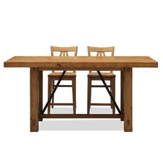 Summerhill Trestle Counter Height Dining Table   from hayneedle.com
