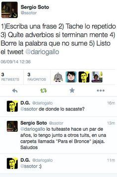 """D.G. on Twitter: """"Micromanual de estilo en Twitter recuperado… """""""