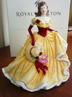 Pretty Ladies Thoughts Of You figurine...Royal Doulton