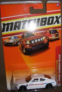 2010 MATCHBOX EMERGENCY RESPONSE #58 WHITE SHREVEPORT POLICE DODGE CHARGER POLICE CAR by MATCHBOX. $3.25. EMERGENCY RESPONSE. THE BEAUTIFUL RIVERSIDE CITY OF SHREVEPORT, LA IS FAMOUS FOR ITS FAIRS, PARADES AND FESTIVALS. WITH MORE THAN 250,000 CALLS FOR SERVICE EACH YEAR, THE SHREVEPORT POLICE DEPARTMENT WORKS HARD TO KEEP THE CITY SAFE. A TRUE EXAMPLE OF MODERN DAY HEROES, THE 500 BRAVE OFFICERS CONTINUE TO FIGHT CRIME AND MAKE SHREVEPORT A FUN PLACE TO VISIT AND A SAFE ...