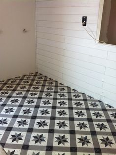 1000 images about sol de cuisine carreau de ciment on pinterest cement tiles small entrance. Black Bedroom Furniture Sets. Home Design Ideas