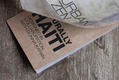 Naturally Haiti T-Shirt Hangtag by Colin Hofman, via Behance