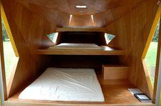 Le Hamac Shelter   France   designed by Zebra3 and Le Bruit du Frigo