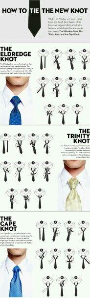 A nice way to wear a tie