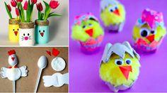 43 nouveaux bricolages sur le thème de Pâques à réaliser avec vos enfants