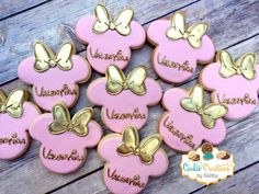 Minnie Mouse Inspired Cookies!