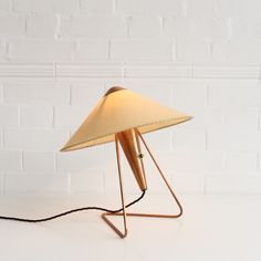Helena Frantova copper table/wall light, Czechoslovakia 1953