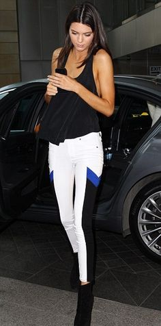 Kendall Jenner love this outfit...I need those pants