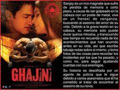 Cine Bollywood Colombia: GHAJINI