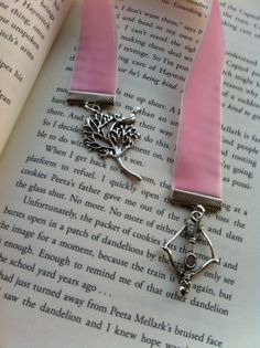 Hunger Games Bookmarks! Pretty in Pink!