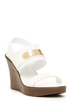 2064cd7e8be03 Italian Shoemakers Beth Wedge Sandal by Italian Shoemakers on   nordstrom rack Wedge Sandals