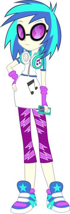 Vinyl Scratch - Equestria Girl 2 Rainbow Rocks by negasun.deviantart.com on @deviantART