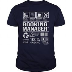 Awesome Tee For Booking Manager T-Shirts, Hoodies (22.99$ ==► Order Here!)