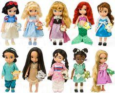 Las princesas Disney en muñeca, ¡son pequeñas y geniales! http://www.serpadres.es/1-2-anos/guia-compras/fotos/los-25-juguetes-estrella-para-estas-navidades/las-princesas-disney-en-muneca