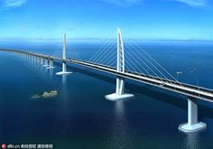 Construction on Hong Kong-Zhuhai-Macao Bridge is close to completion ~ Civil Engineering Blog