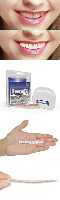 Other Oral Care: Cosmetic Snap On Teeth Dental Imako Upper Small Bleached Front Tooth Smile Cover BUY IT NOW ONLY: $42.99