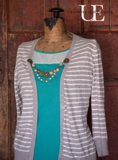How to Make a Cardigan Chain. Great for Gift Giving and only takes a few minutes to make!!!