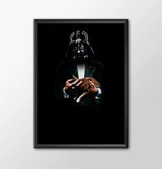 Star Wars Art - Alternative Universe 5 - Vader Godfather by ShamanAlternative on Etsy