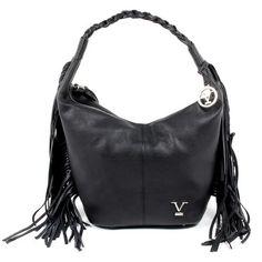 87ae6b088b V 1969 Italia Womens Handbag Black OSLO