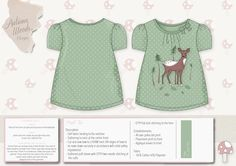 Autumn Woods Childrenswear range on Behance