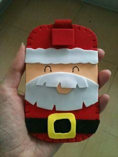 Funda movil Santa Claus