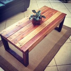 Recycled Pallet Wooden Furniture Ideas