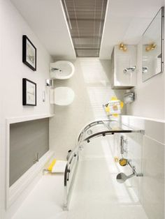 Small bathroom ideas – space-saving bathroom furniture and many clever solutions - design ideas Space Saving Bathroom, Small Space Bathroom, Small Bathroom Storage, Modern Bathroom Design, Master Bathroom, Bathroom Designs, Bathroom Bench, Shower Bathroom, Ikea Bathroom
