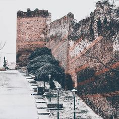 """Thessaloniki Travel on Instagram: """"❄️Baby it's cold outside❄️ #tb to last year's snowy days ⛄"""" Snowy Day, Winter Day, Its Cold Outside, Thessaloniki, The Outsiders, Baby, Travel, Instagram, Trips"""