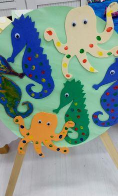 #okul #öncesi #balık #sanat #etkinliği