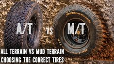 All Terrain vs Mud Terrain, best tyres for your 4x4 vehicle and needs. A question I get asked a lot is 'should I get AT or MT tires?'. Well this video should...