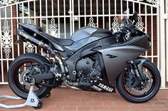 I own this grey edition yamaha r1 and love it!