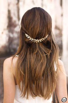 Acessório de cabelo: Kristin Perry