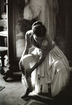 Ferdinando Scianna.  Balletic.  View inspired bridal accessories at http://www.millany.com/