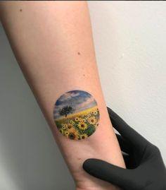 Lovely Sunflowers Tattoo