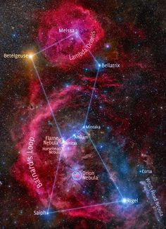 Hubble Space Telescope - #Nebula #Orion, #Horsehead , #Flame