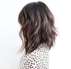 Brunette Mid Length Cut by Mane Master Anh Co Tran of Ramirez Tran Salon in Beverly HIlls http://maneaddicts.com/2015/03/17/mane-master-anh-co-tran/