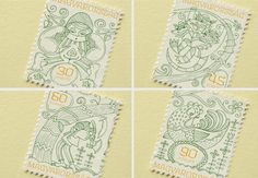 Hungarian folk tale stamps