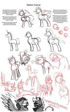 Stallion Tutorial by Assassin-or-Shadow on DeviantArt
