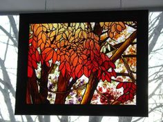 """2011 Large Panels 1st. Place """"AUTUMN FROM THE 2ND FLOOR"""" by Michael"""