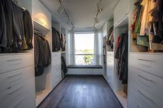Walk in closet Greater Toronto Area, Walk In Closet, Peek A Boos, Master Bathroom, Ontario, Condo, Real Estate, The Unit, Queen